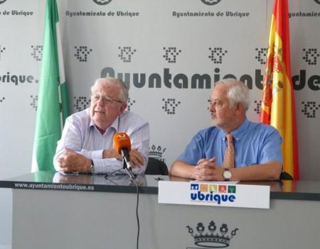 Enrique Loewe y Manuel Toro.