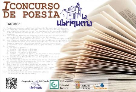 I Concurso de Poesía La Ubriqueña.