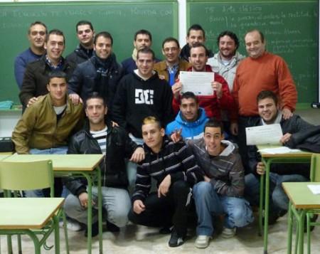 Participantes en el curso (Foto: www.ayuntamientoubrique.es).