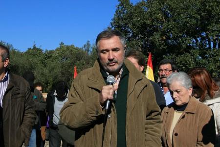 Luis Naranjo, director general de Memoria Democrática, durante su intervención.