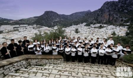 Coro de Voces Blancas de la Escuela Municipal de Música de Ubrique.