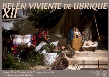Cartel anunciador del XII Belén Viviente.