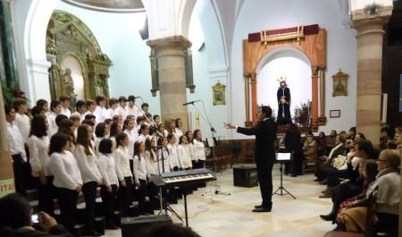 El Coro de Voces Blancas.
