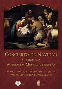 Cartel anunciador del concierto.