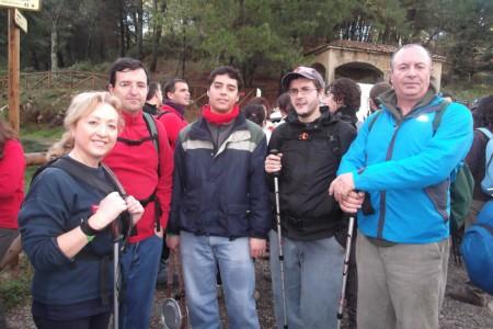 Participantes en la travesía.