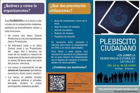 Plebiscito Ciudadano.