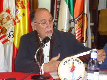 Juan Castro, durante su intervención.