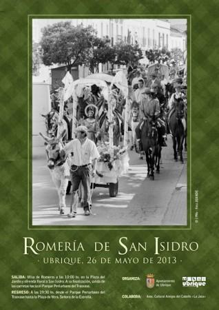 Cartel de la Romería, con ilustración de Foto Juande.