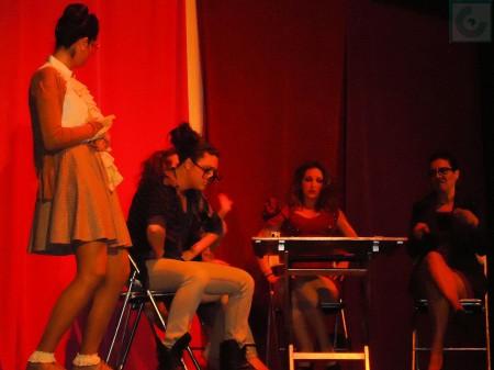 Malas Conocidas, en el escenario.