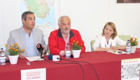 Antonio García, Manuel Toro y Remedios González.