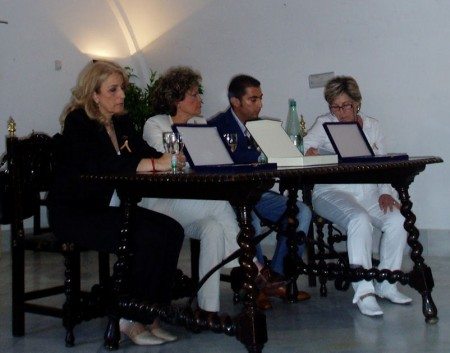 Ana María Venegas Bazán, durante su intervención.