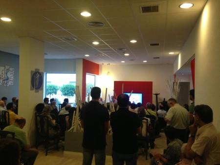 Público asistente (Foto: La Tapería).