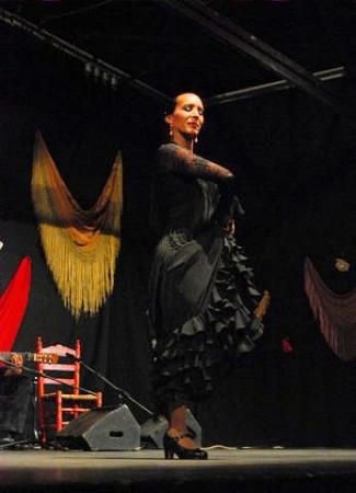 Carmen Herrera, primer premio en la modalidad de baile.