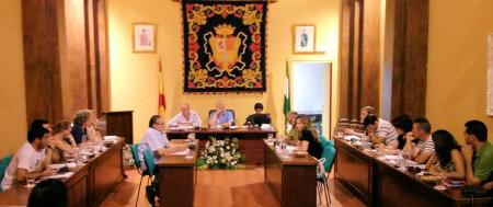 Pleno del Ayuntamiento de Ubrique.
