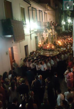 Procesión de la Virgen de los Remedios.