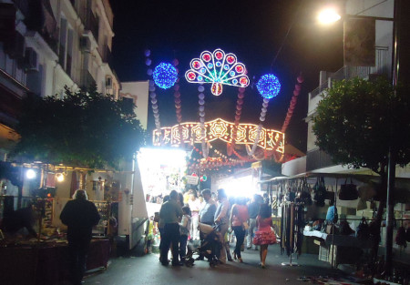 La Plaza de la Estrella, tras la clausura de la Feria.
