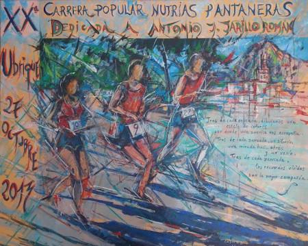 Cartel de la carrera.