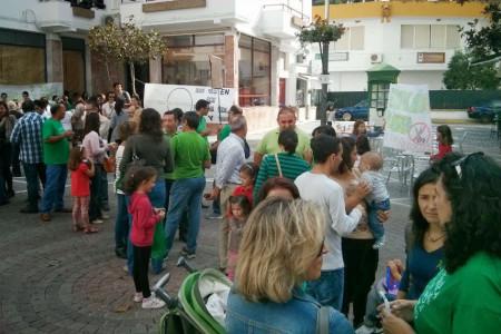 Participantes en la consulta ciudadana.