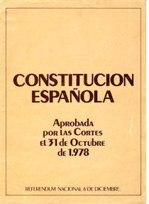 Constitución de 1978.