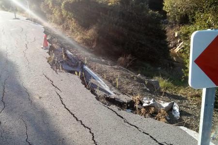 Carretera al Pantano por Coto Mulera.