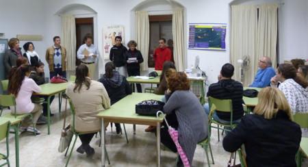 Acto de inauguración del taller de empleo de Ocuri.