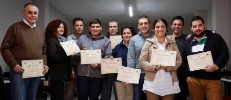 Participantes en el I curso-taller de fotografía digital.