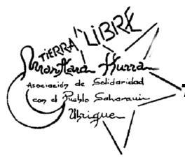 """Logotipo de """"Tierra Libre""""."""