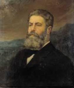 Joaquín Costa (Galería de Retratos del Ateneo de Madrid).
