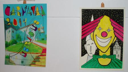 Algunos de los carteles expuestos (Foto: Museo de la Piel).