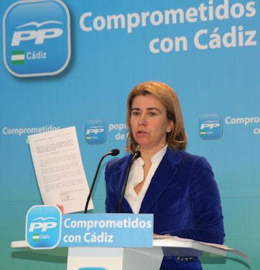 La parlamentaria del PP Teresa Ruiz-Sillero.