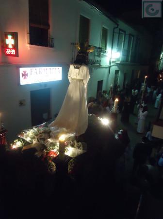 El Cautivo, camino de la plaza de la Trinidad.