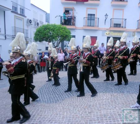 Banda de Cornetas y Tambores Nuestra Señora del Carmen de Sevilla.