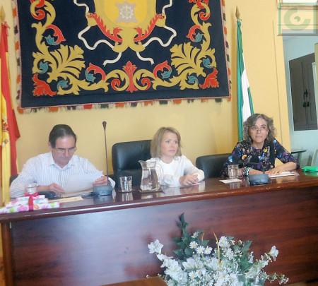 Presentación del acto, por Mª Carmen López.
