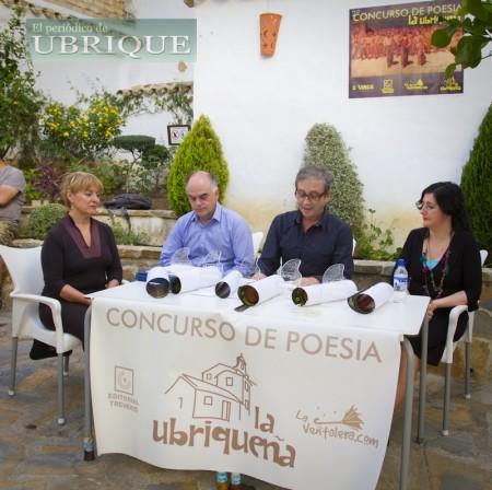 Ramón Pérez Trujillo, de 'La Ubriqueña', durante su intervención en la terraza de 'D'Vinos'.