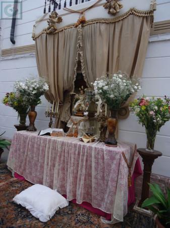 Altar de la calle Botica.