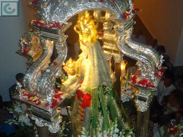 Imagen de la Virgen de los Remedios.