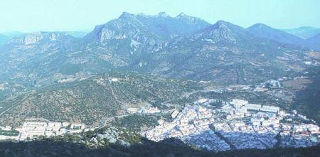Vista general de Ubrique.