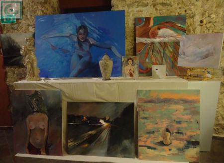 Conjunto de obras de Casiano López.