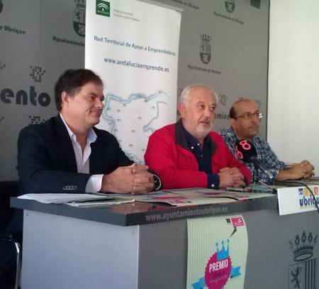 Pablo Celada, Manuel Toro y Juan Enrique Gutiérrez.