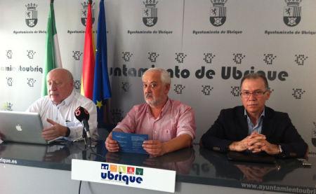 Carlos López Filio, Manuel Toro y Eduardo Párraga.
