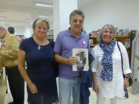 Inmaculada Gavira Vallejo, Antonio Morales Benítez y Cecilia Fernández Suzor.