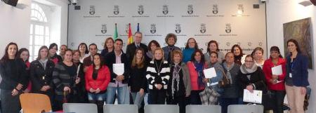 Participantes en el acto de clausura.