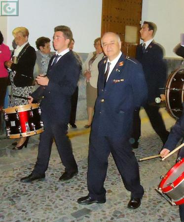 El direcor de la Banda Municipal de Música de Ubrique, Juan Pedro Viruez.