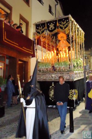 El paso de la Virgen de la Estrella.