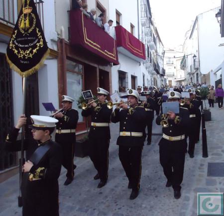 Agrupación Musical del Santísimo Cristo del Calvario.