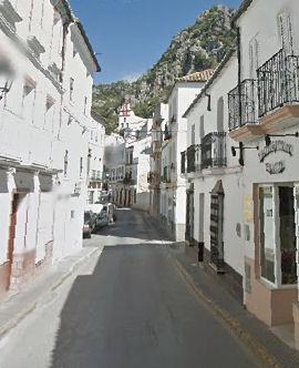 Tramo de la calle San Sebastián.