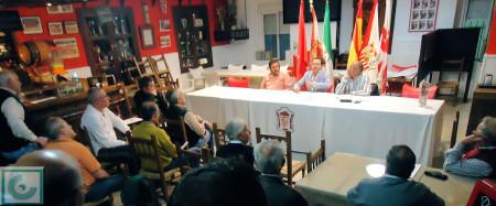 Asamblea de socios de la Peña Sevillista.