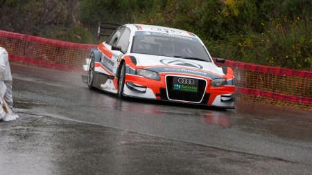 Uno de los coches participantes (Foto: Escudería Ubrique).