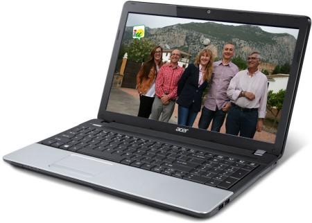 Imagen del vídeo electoral de IU, en un ordenador portátil.