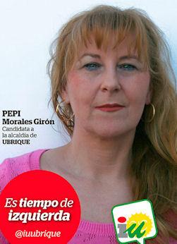 Pepi Morales Girón (IU).